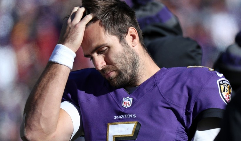 Joe Flacco Hip Injury Doubtful