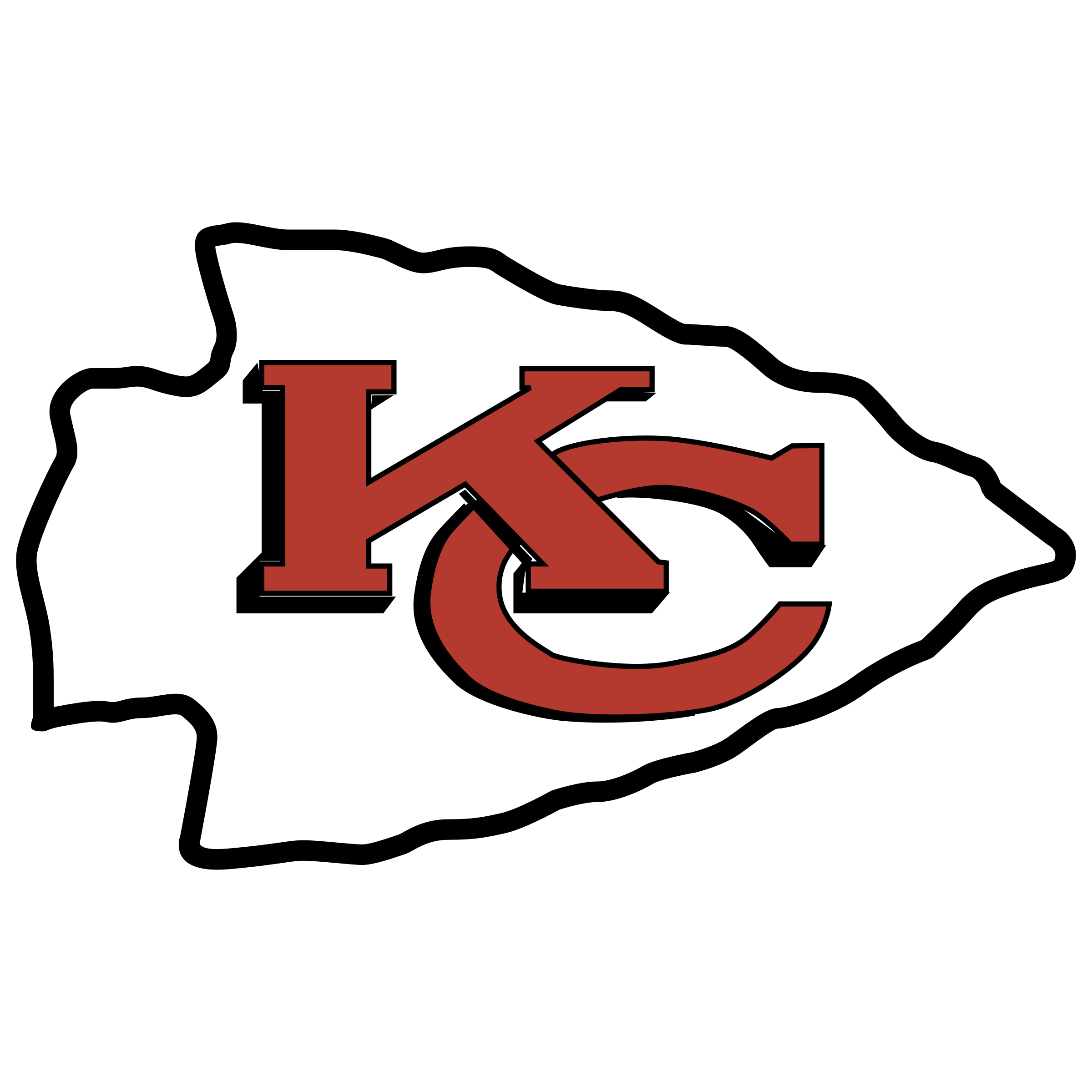 Chiefs Logo - The Baltimore Feather