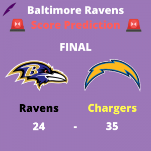 Ravens Chargers Preview