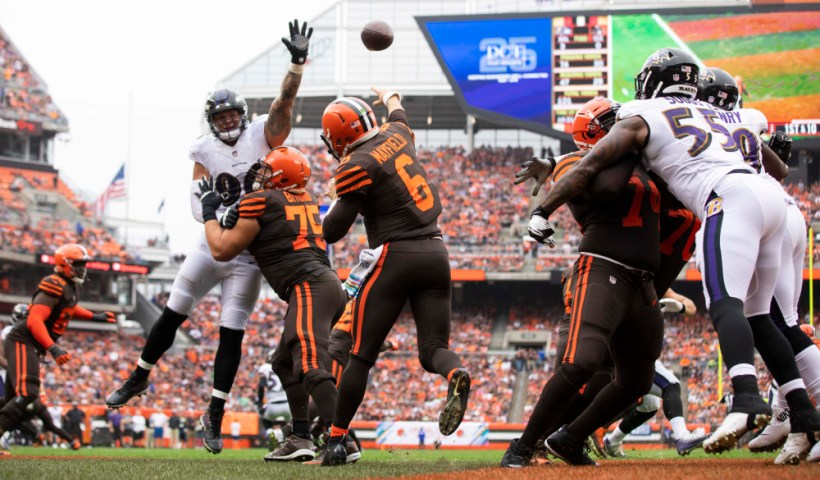 Ravens Browns Week 17 2018 Predictions