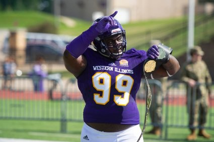 Khalen Saunders Western Illinois Senior Bowl Baltimore Ravens