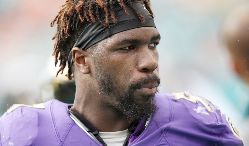 CJ Mosley Ravens Franchise Tag