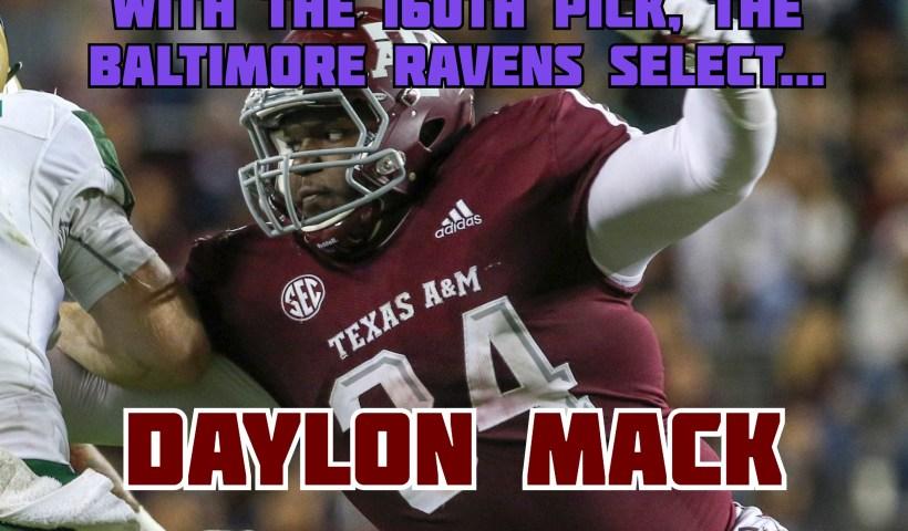 Baltimore Ravens Daylon Mack