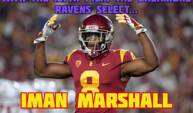 Iman Marshall Baltimore Ravens