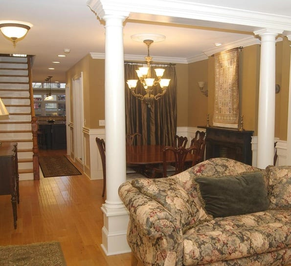 In Law Apartment: Baltimore Fishbowl 1900 Federal Hill Townhouse: Renovated