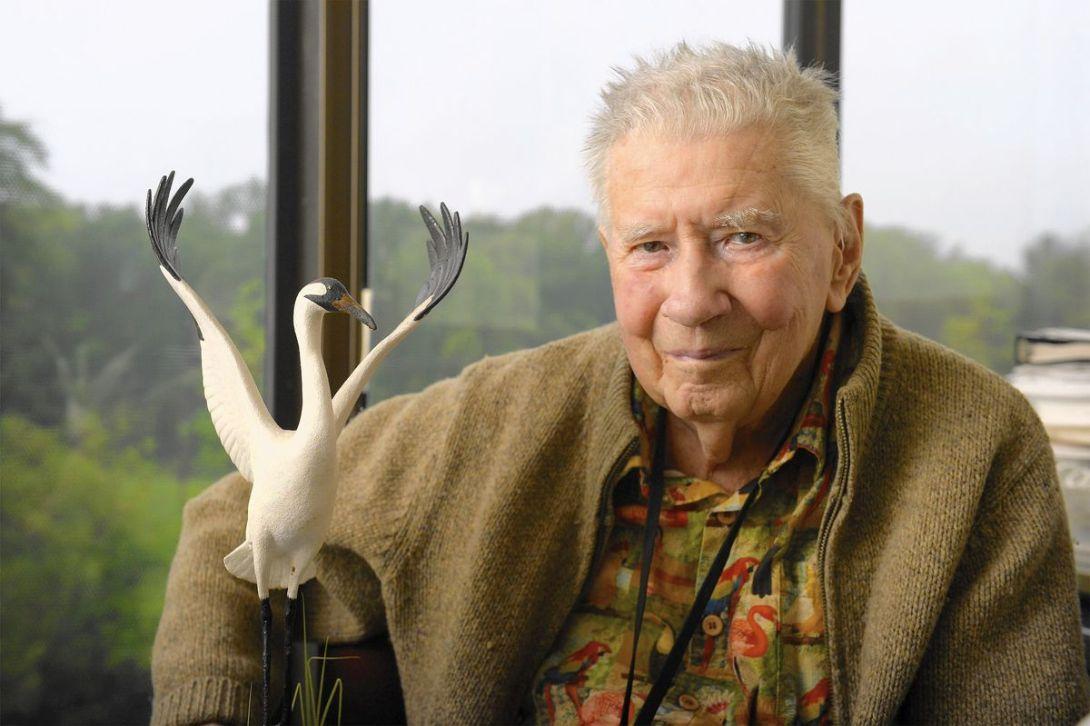 Ornithologist Chandler Robbins has lifelong passion for birds