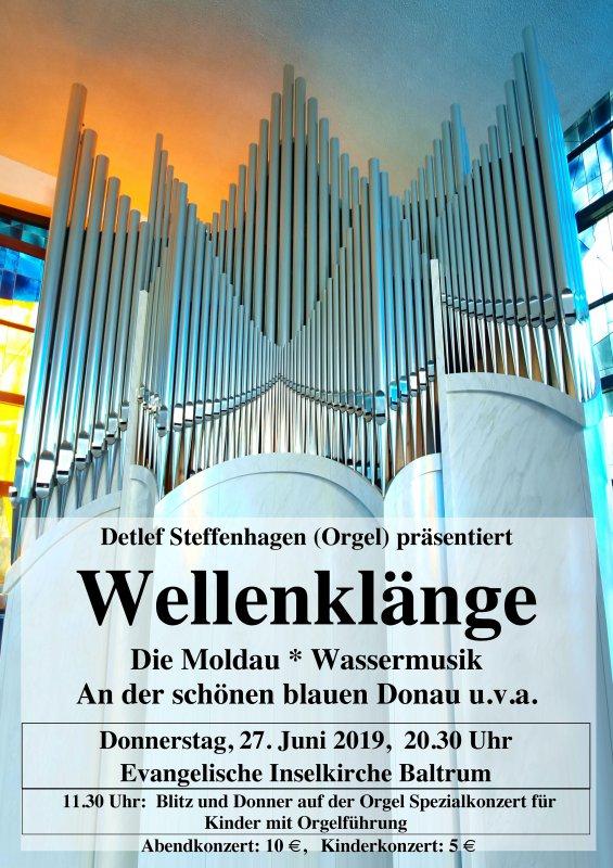 blitz und donner auf der orgel