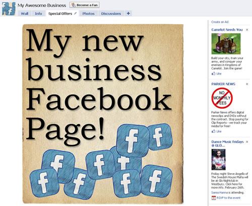 Tu fan page en facebook