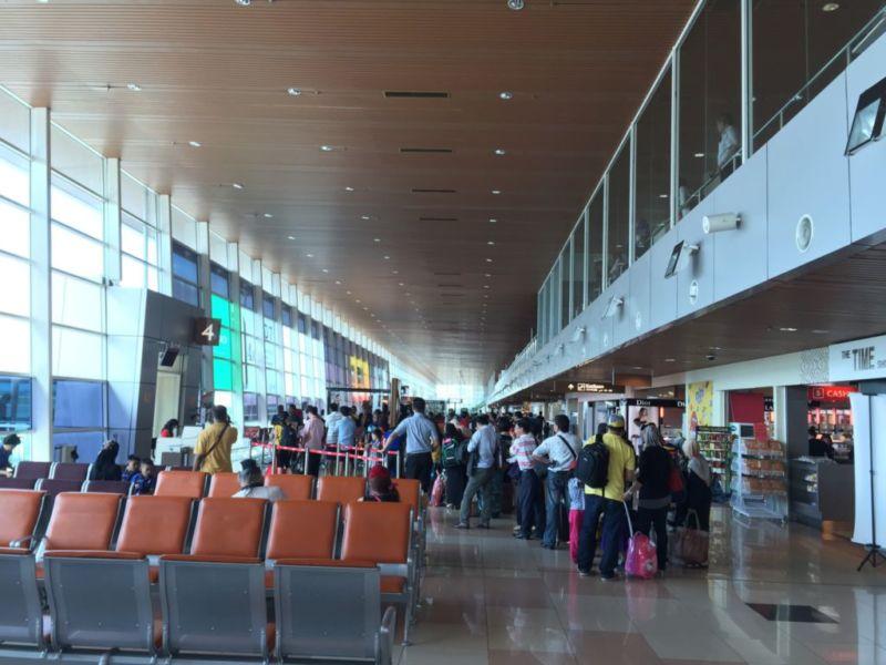 Kuching Airport, Domestic Transit area @2015
