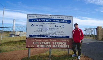Cape Leeuwin Lighthouse entrance