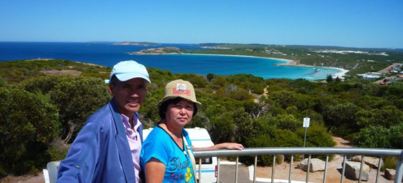View from Rotary Lookout, Esperance