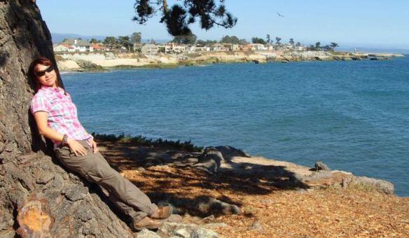 Along West Cliff Drive, Santa Cruz, California