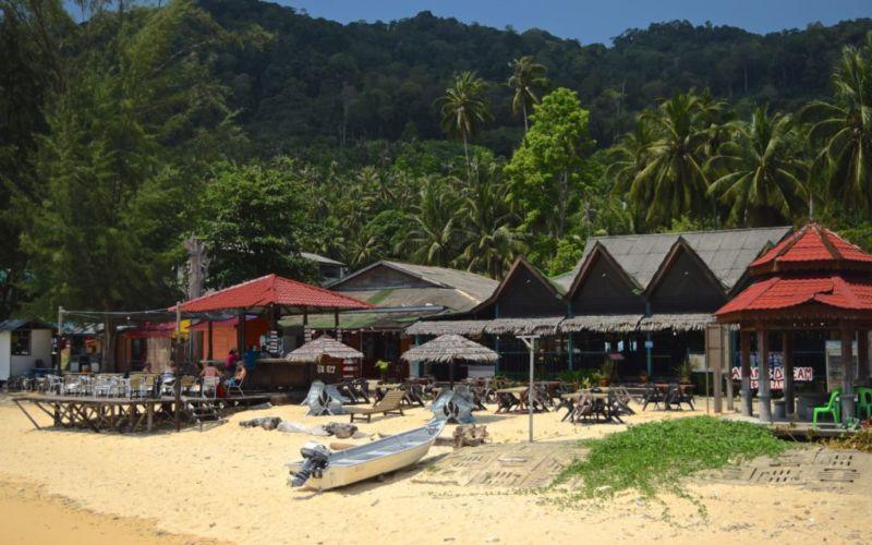 Bar and restaurant at Salang, Tioman, Malaysia