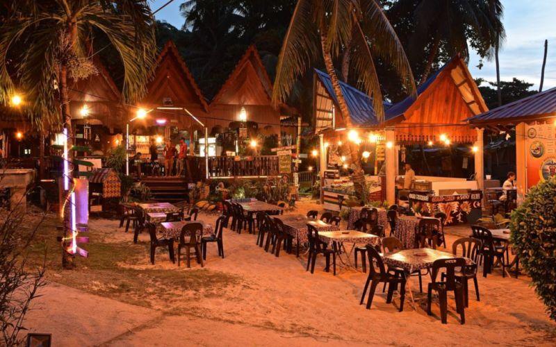 Restaurant at Salang Pusaka Resort, Tioman