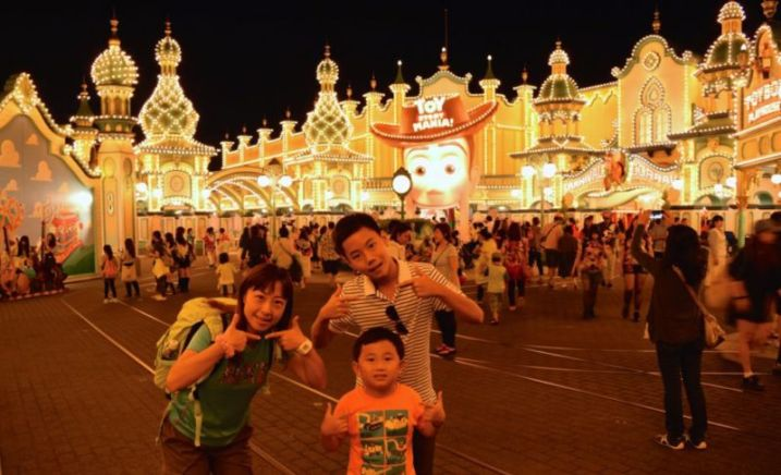 Toy Story Mania: Crowded till closing time @2015