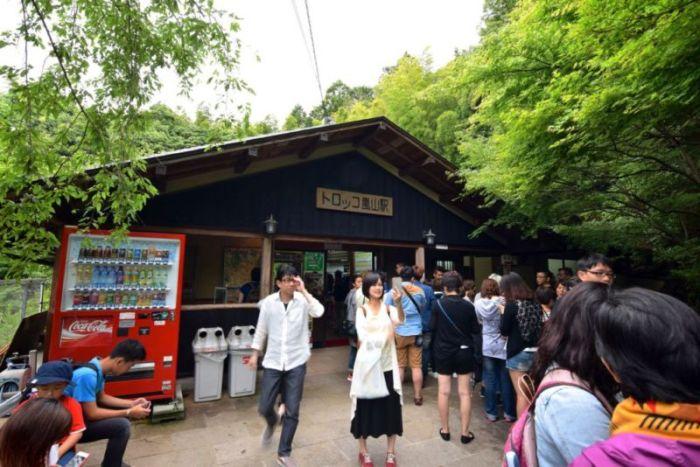 Torokko Arashiyama Station @2015