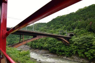 Hozugawa river, Sagano Scenic Railway , Kyoto
