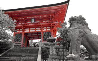Deva Gate, Kiyomizu-dera, Kyoto