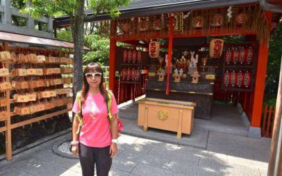 Altar beside Jishu Shrine, Kiyomizu-dera, Kyoto