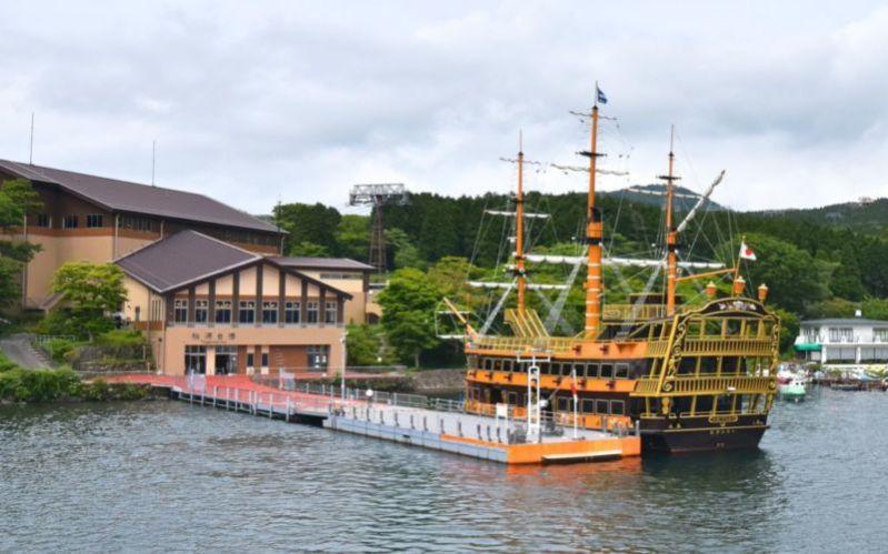 Togendai port, Hakone