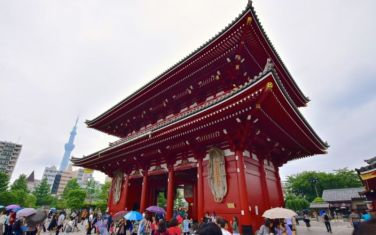 Second gate of Sensō-ji temple