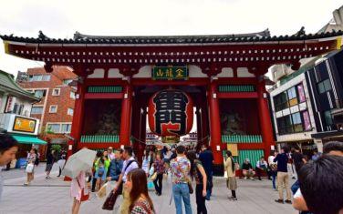 First gate of Sensō-ji temple