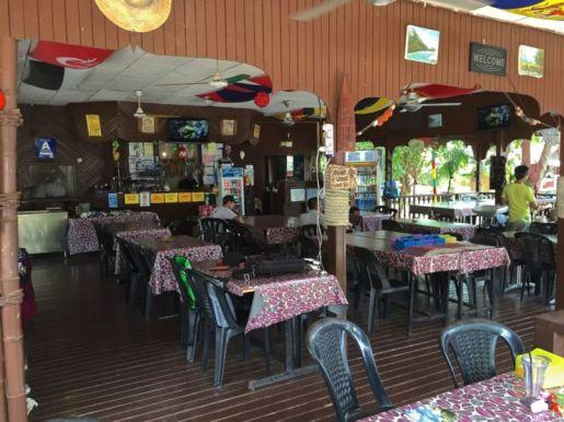 Restaurant at Salang Pusaka Resort , Tioman