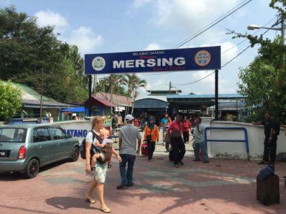 Mersing Jetty, Johor, Malaysia