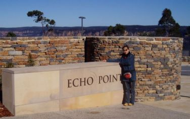 Echo Point Lookout, Three Sisters, Blue Mountain