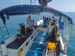 B&J Dive boat, Tioman
