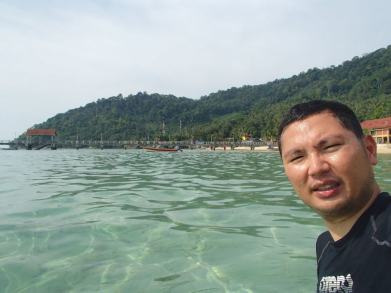 Salang beach , Tioman
