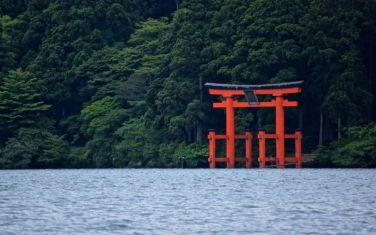 Hakone-Jinja Shrine torii gate