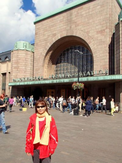 Central Railway Station (Rautatieasema), Helsinki, Finland
