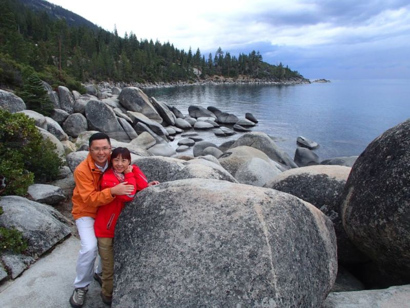 Memorial Point Overlook, Lake Tahoe, Nevada