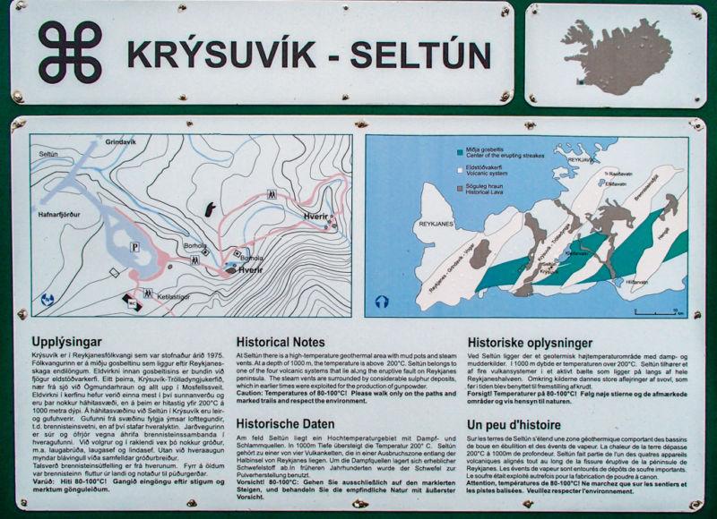 Krysuvik-Seltun, Iceland