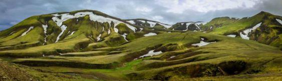 Views enroute to Landmannalaugar (F225)