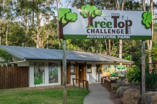 TreeTop Challenge, Mt Tamborine: Australia's first Theme Park in the trees, operating since 2007.