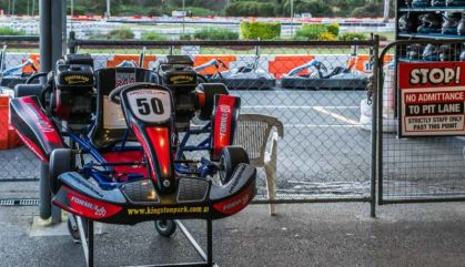 Over 100 go-karts to suit the different experience levels of all drivers