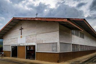 Church in Bario (Sarawak, Malaysia)