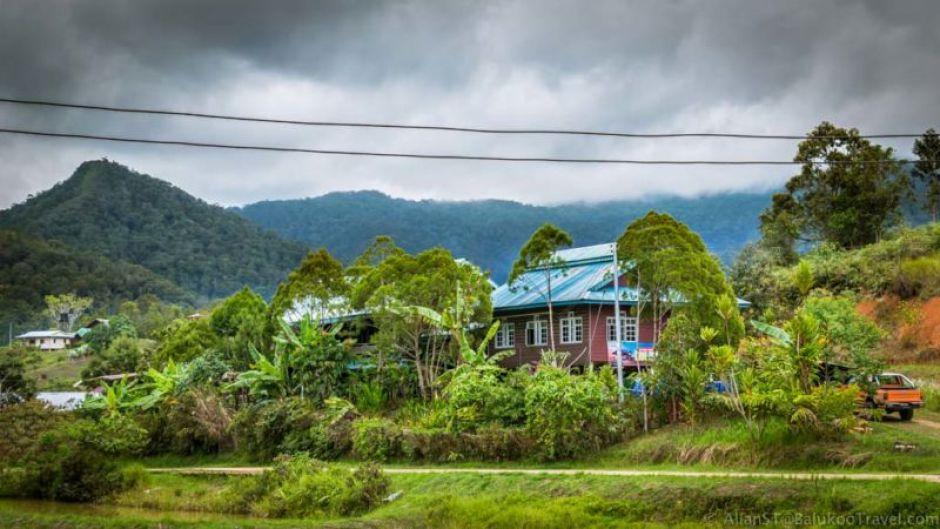 The Ngimat Ayu House, Bario (Sarawak, Malaysia)