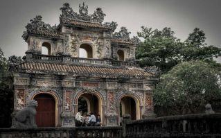 Hien Nhon Gate. Hue Imperial City, Vietnam.