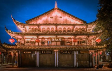 Well preserved building. HuangLongXi Ancient Town (Chengdu, Sichuan Province, China)