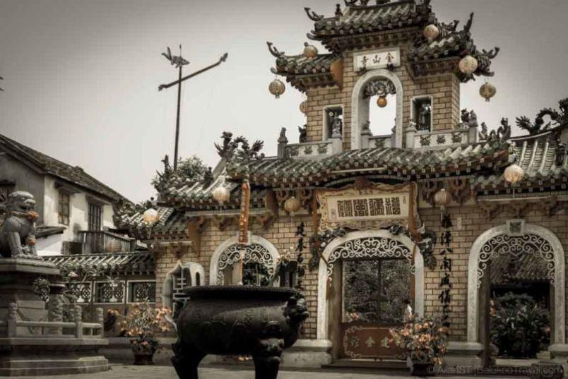 Phuoc Kien (Fujian) Assembly Hall. Hoi An Ancient Town (Da Nang, Vietnam)