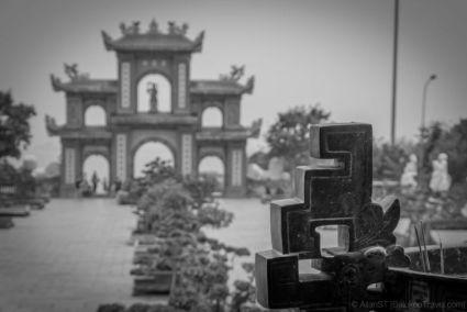 On the temple grounds of Linh Ung Pagoda (Lady Buddha), Da Nang