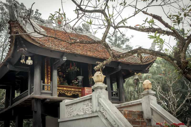 One Pillar Pagoda (Hanoi, Vietnam)