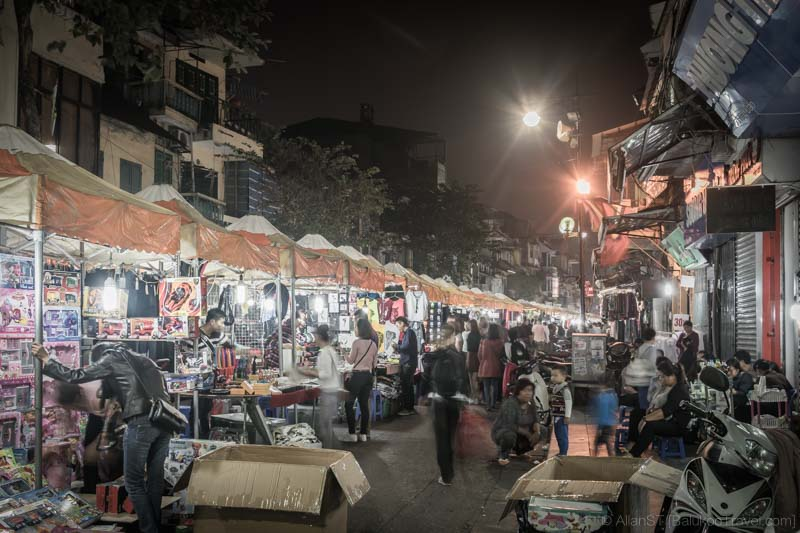 Old Quarter Night Market (Hanoi, Vietnam)