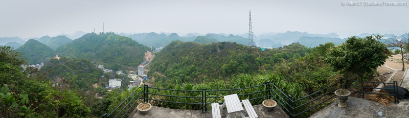Views from Cannon Fort's cafe (Cat Ba Island, Vietnam)