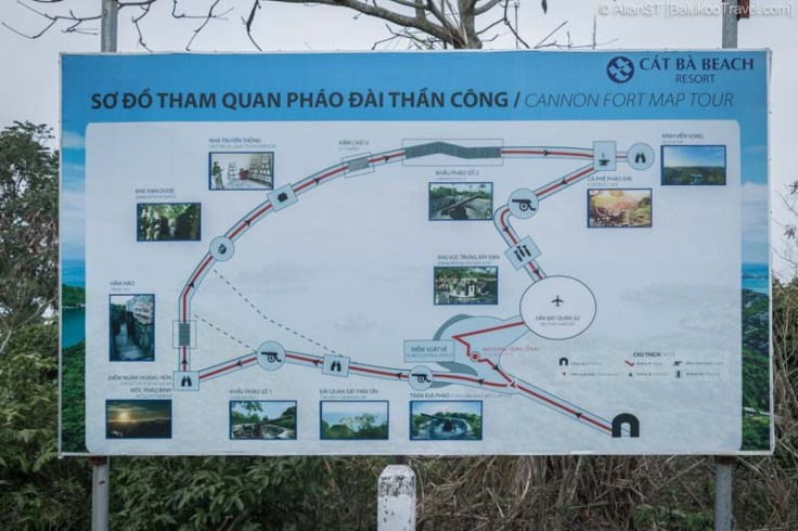 Visitor Trail, Cannon Fort (Cat Ba Island, Vietnam)