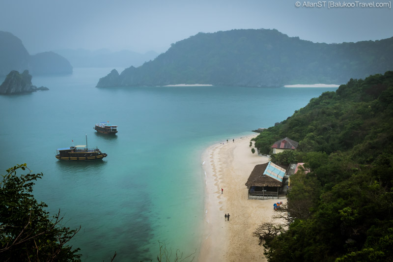 View from summit, Monkey Island (Lan Ha Bay, Vietnam)