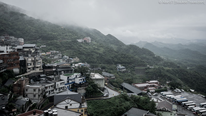 View from Jiufen Old Street (Taiwan) @2016